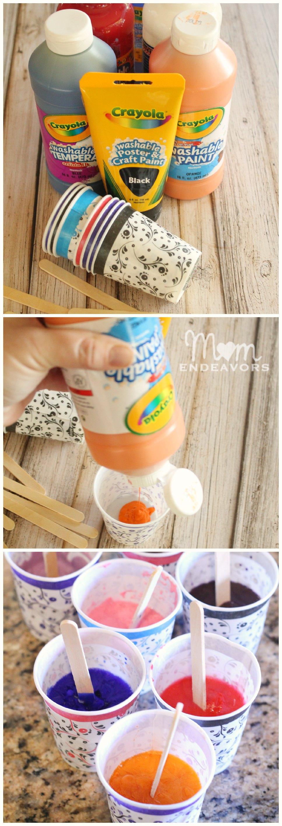 Ice Paint Recipe
