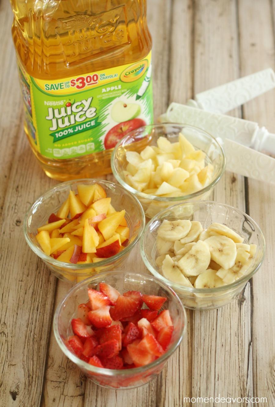 Juicy Juice Fruit Popsicle Bar