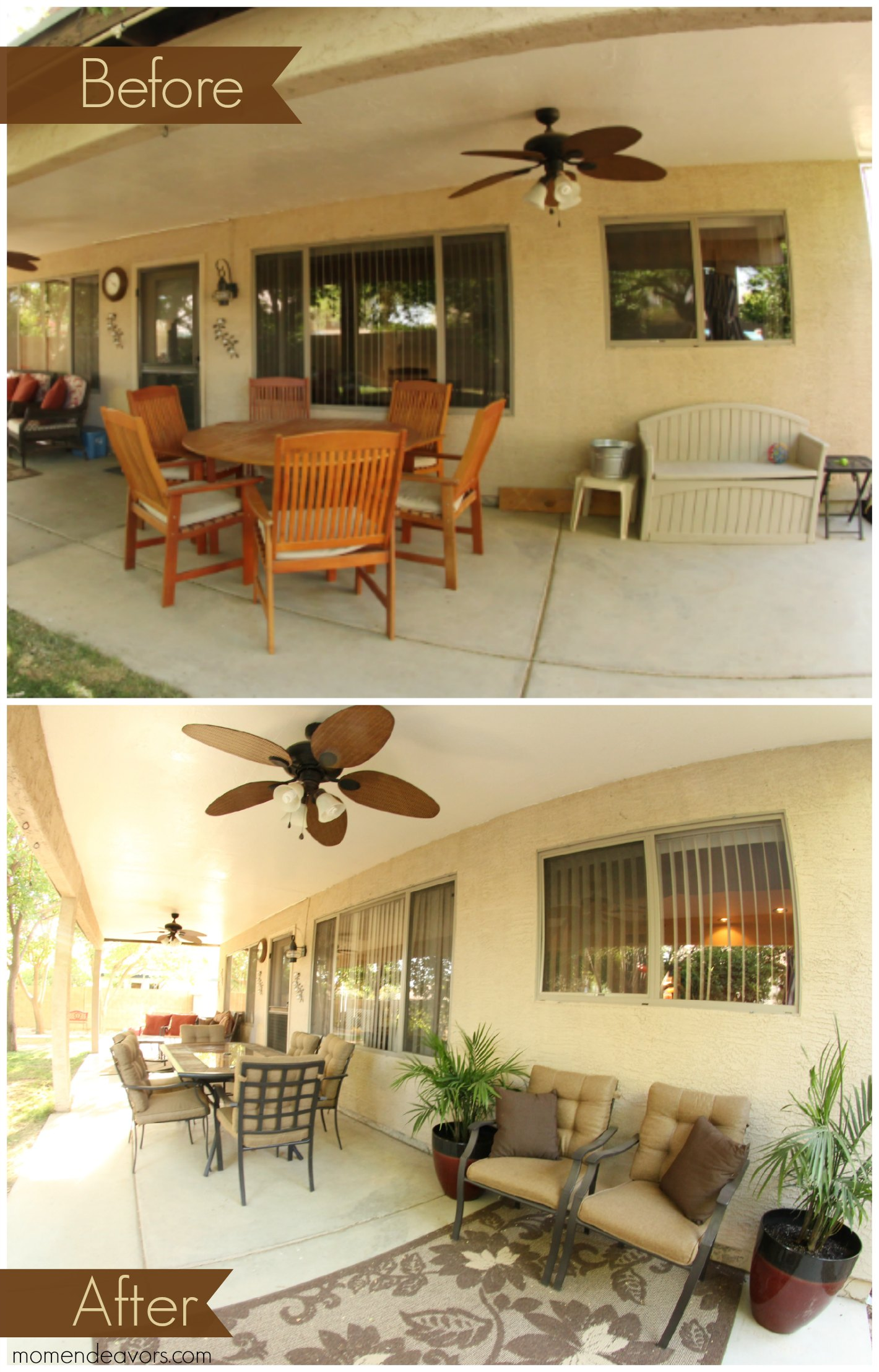Patio Makeover Lowe's