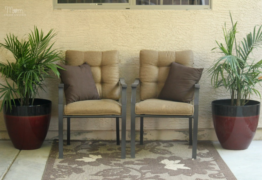 Patio Seating Makeover