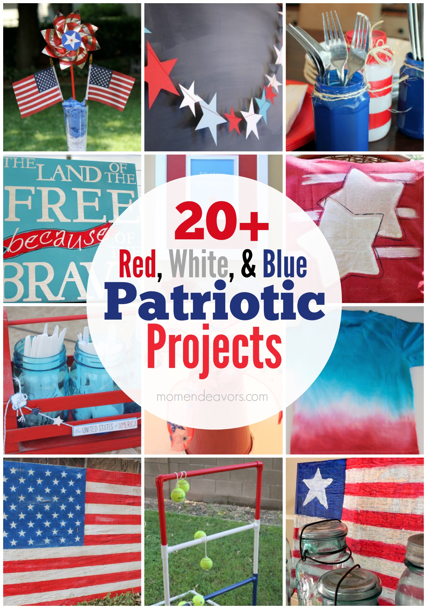 20 Patriotic Crafts Amp Diy Decor
