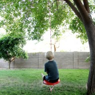 Simple DIY Tree Swing