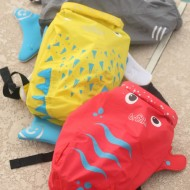 PaddlePak Review & Giveaway: Water-resistant Backpack for Kids!