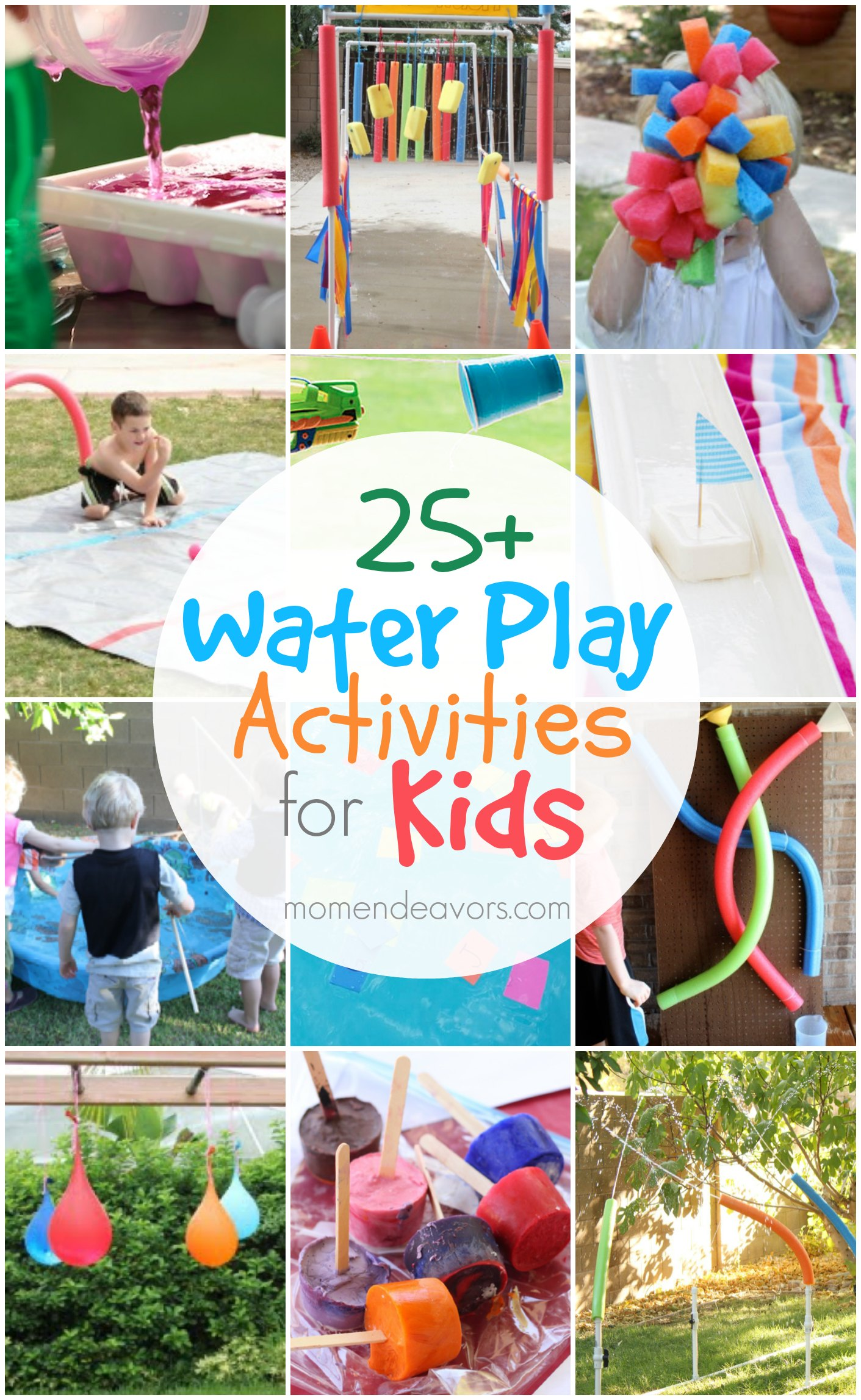 25+ Outdoor Water Play Activities for Kids