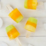 Citrus Striped Popsicles