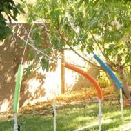 DIY Water Blasters {Kiddie Sprinkler}