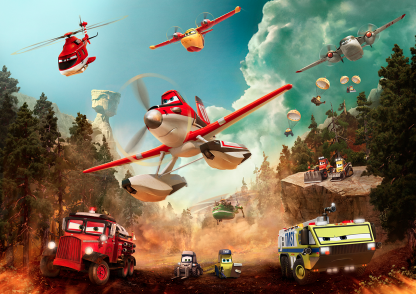 Disney Planes Fire & Rescue Characters