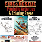 Disney Planes Fire & Rescue Printable Activities & Coloring Pages