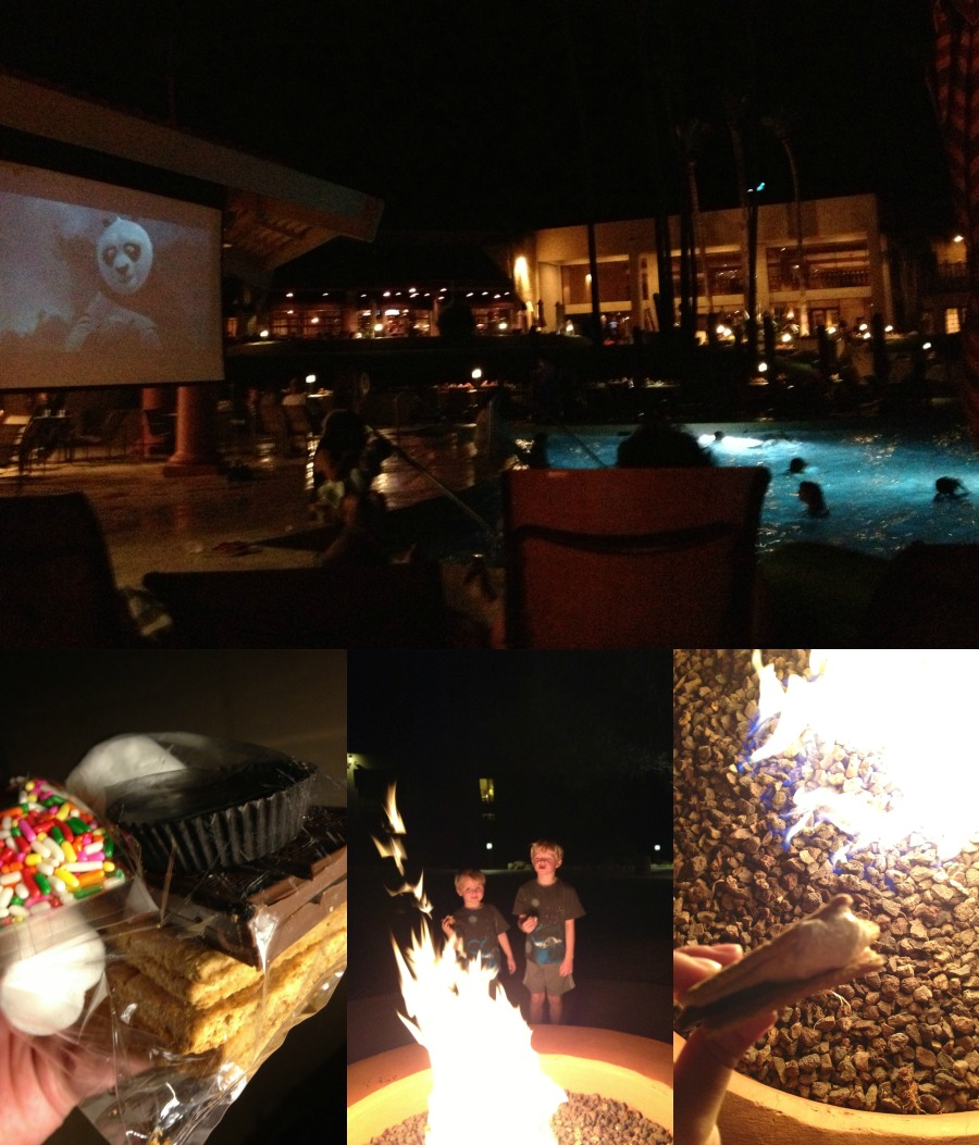 Fireside S'mores at Hilton Tucosn