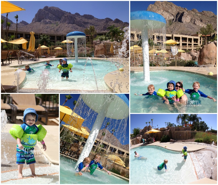 Hilton Tucson Kiddie Pool