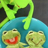 Muppets Most Wanted Fun Food: Kermit & Constantine Quesadillas