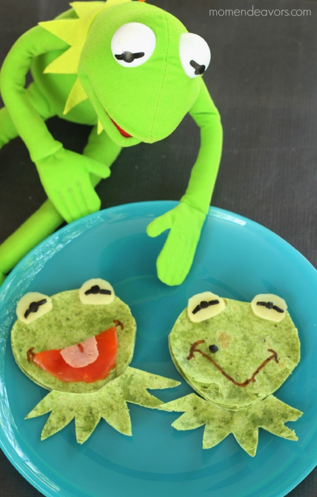 muppets most wanted fun food kermit amp constantine quesadillas