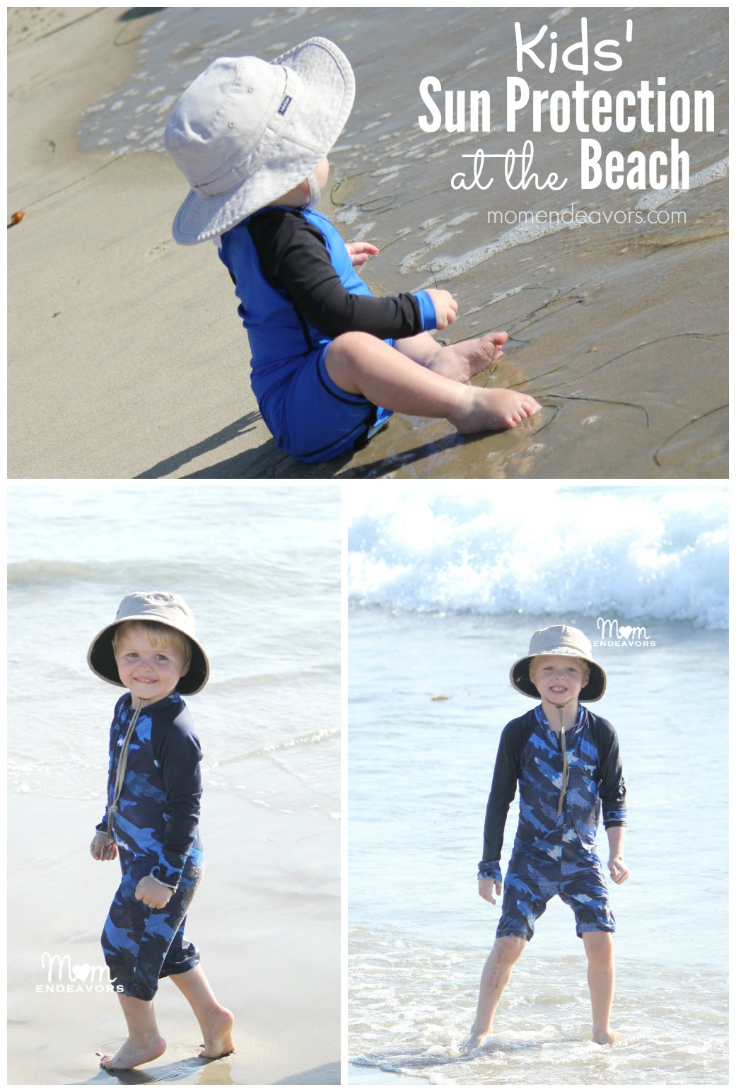 Kids' Sun Protection at the Beach