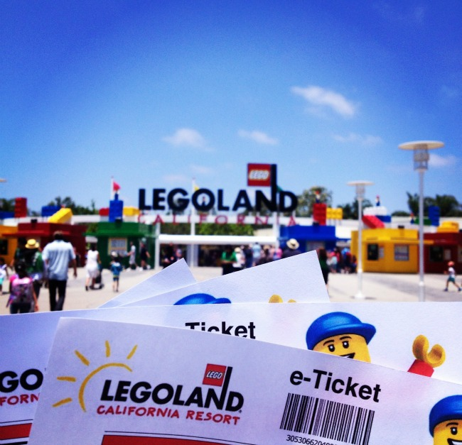 Legoland California Undercover Tourist Tickets