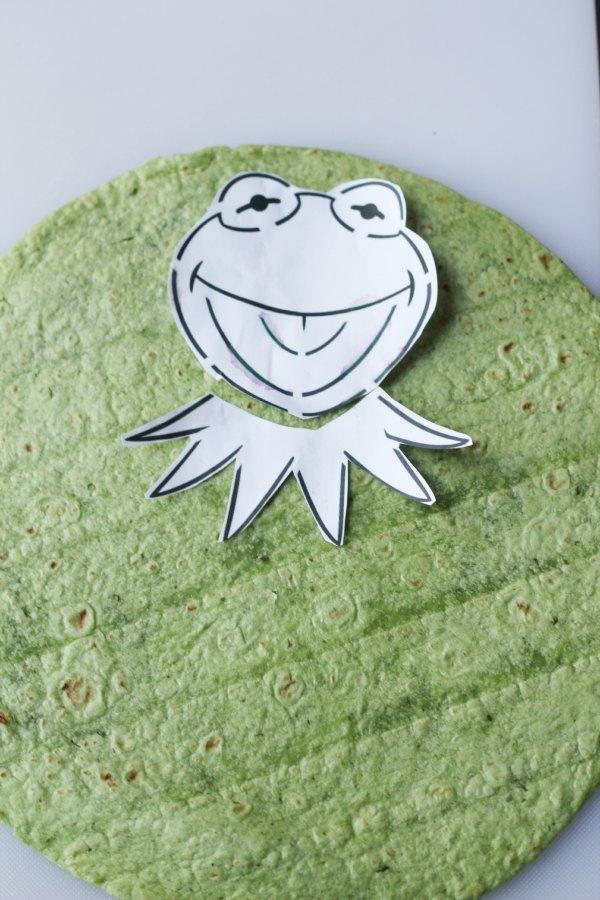 Making Kermit Quesadillas