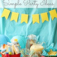 "Simple ""Best Summer Ever"" Party Ideas"
