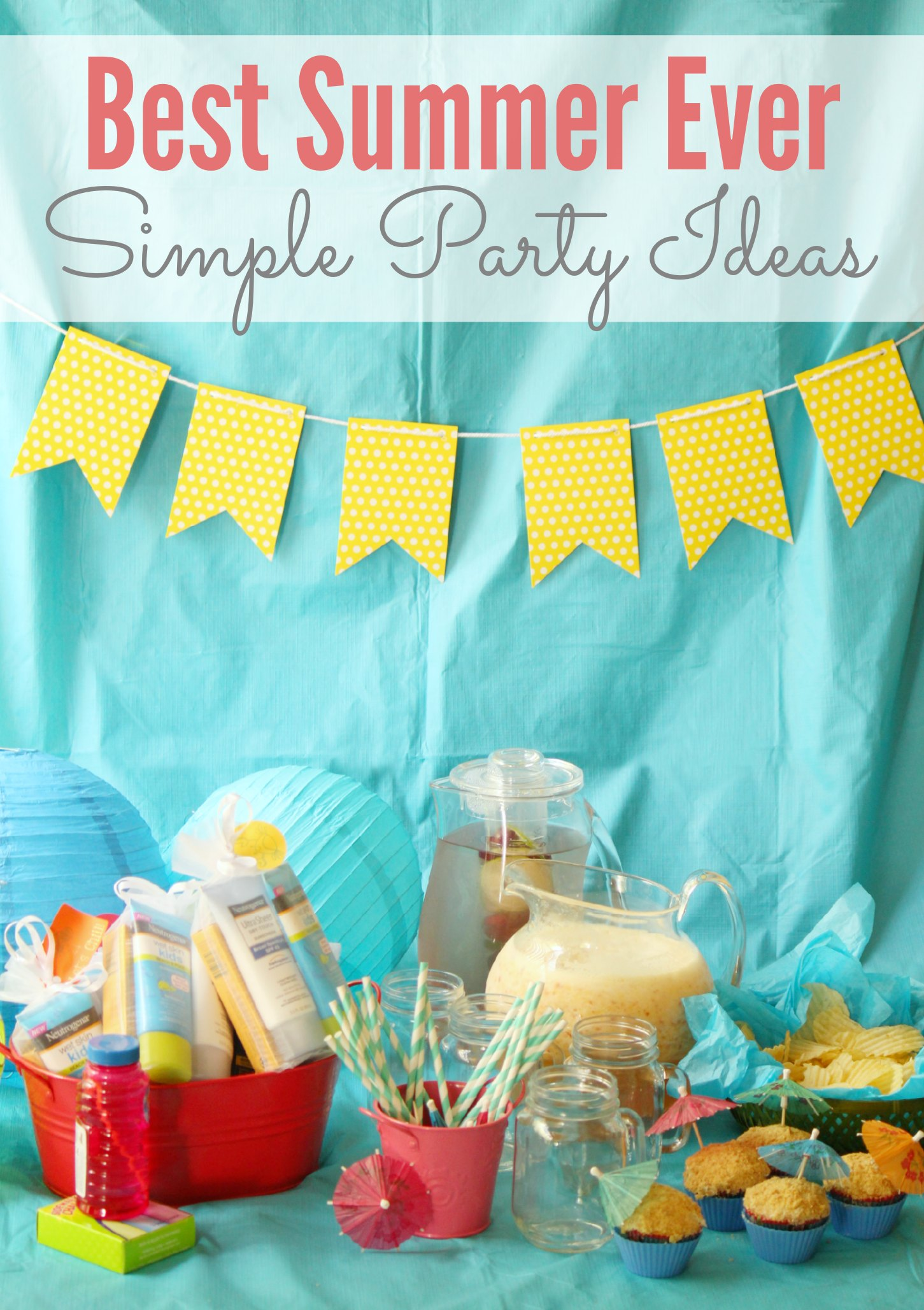 Simple Best Summer Ever Party Ideas