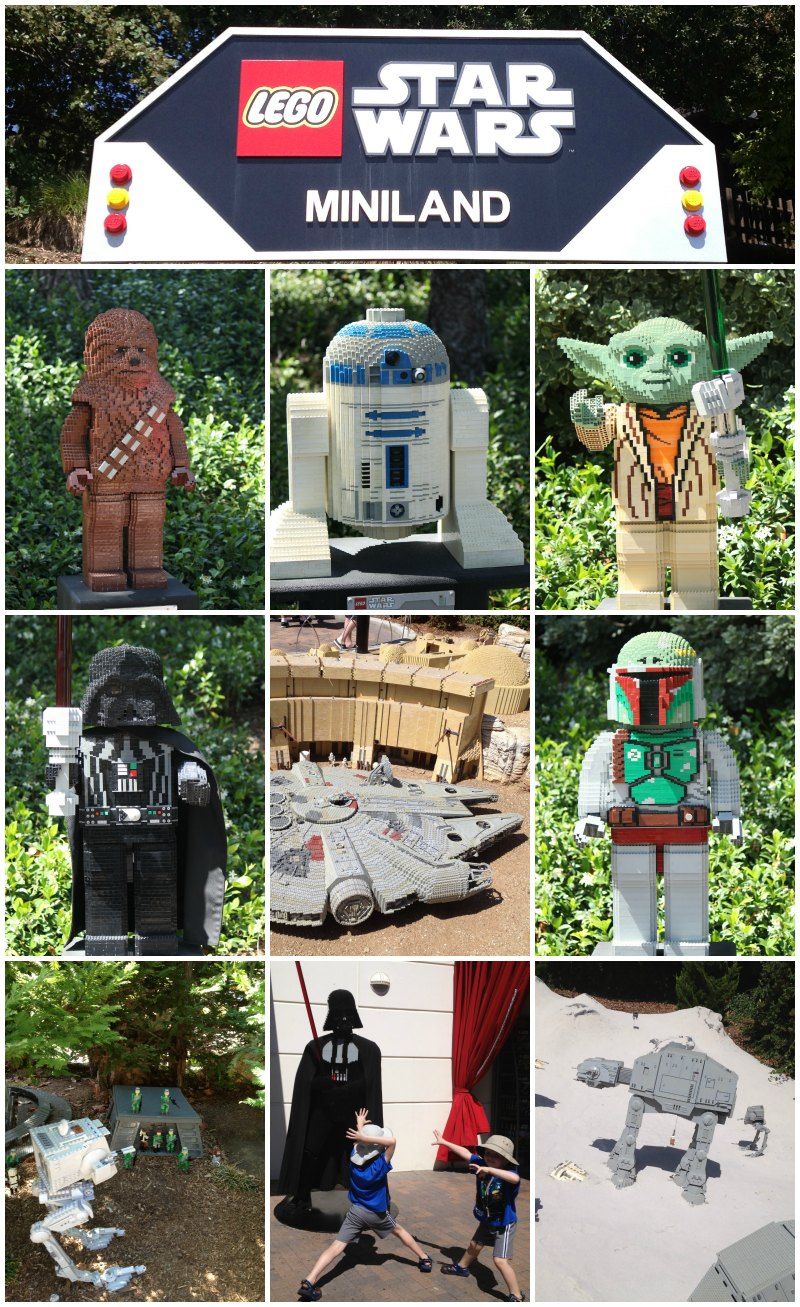 Star Wars Miniland Legoland