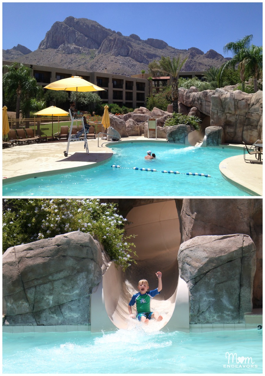 Water Slide at Hilton El Conquistador