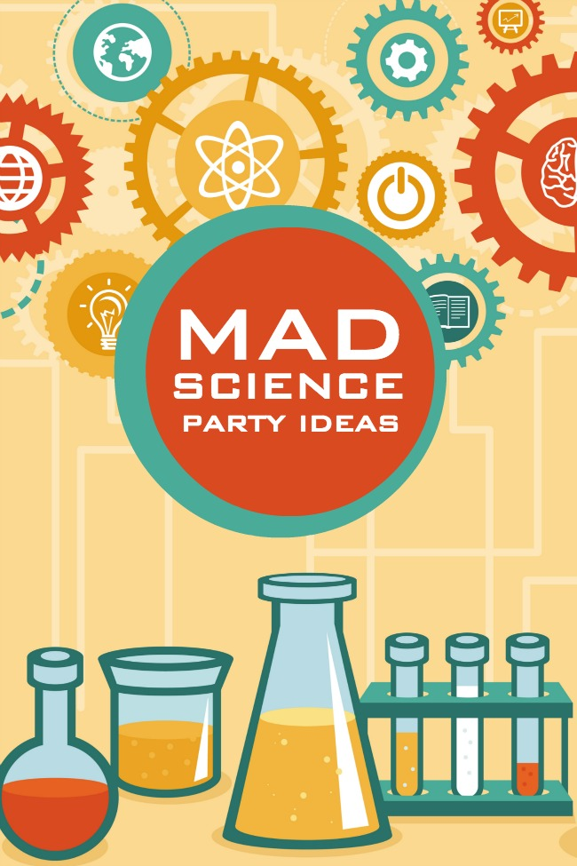 Mad Scientist Birthday Party Ideas – Mad Scientist Birthday Party Invitations