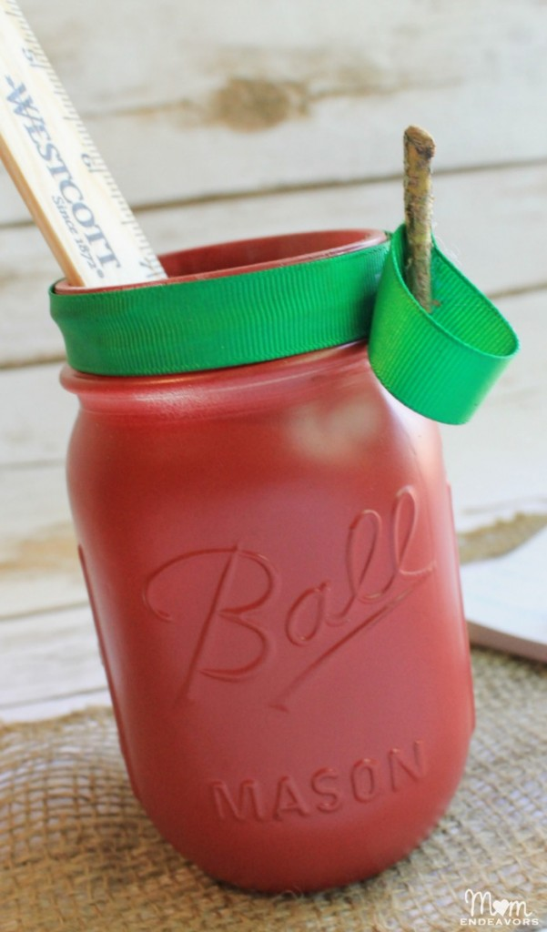 Apple Mason Jar Gift