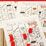 Back to School Bingo Printables
