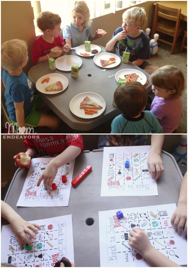 Back to School Party Playdate