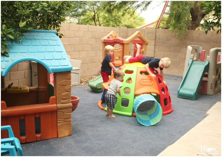 Backyard Kids' Play Area
