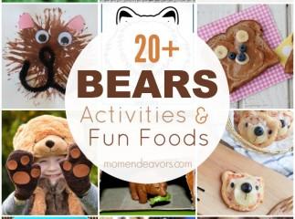 Bears Activities & Fun Foods