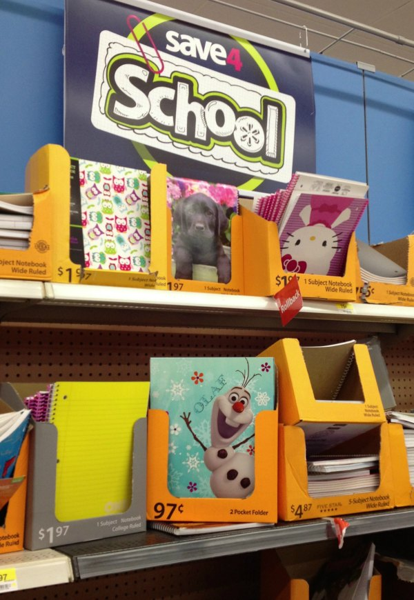 Disney Frozen School Supplies