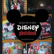 Easy-to-Make Disney Photo Books with Snapfish {+ Giveaway!!}