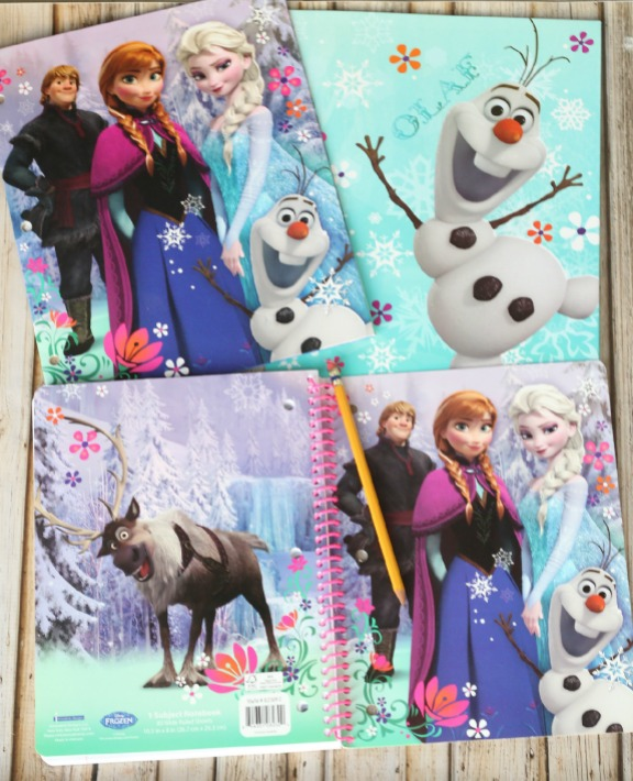 FROZEN school supplies