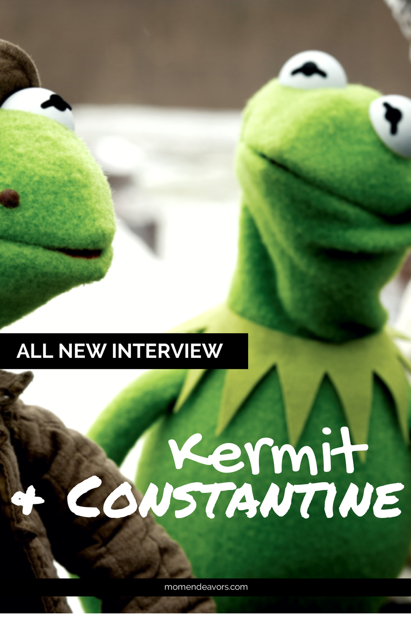 Kermit & Constantine Interview #MuppetsMostWanted