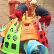 Little Tikes Tunnel 'N Dome Climber Review {& GIVEAWAY!!!}
