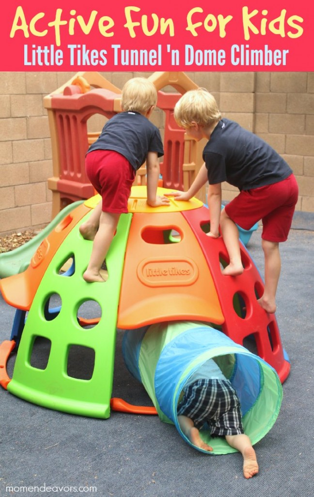 Little Tikes Tunnel N Dome Climber Review Amp Giveaway