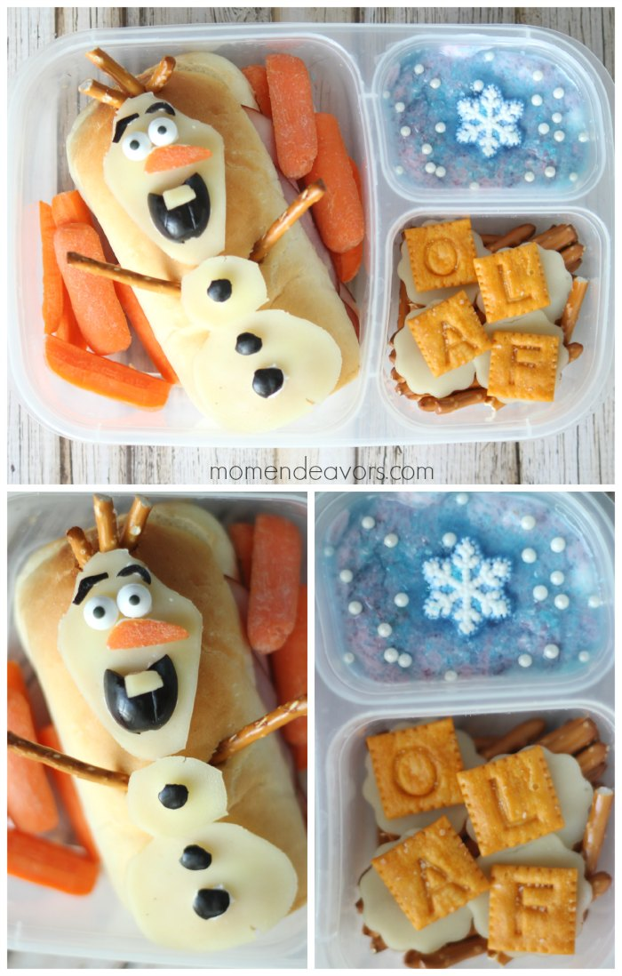 Olaf Bento School Lunch