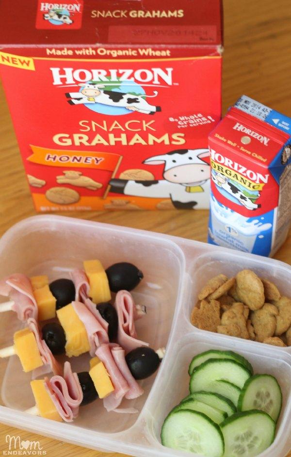School Lunch Ideas with Horizon