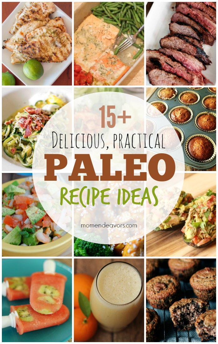 15+ Practical Paleo Recipes