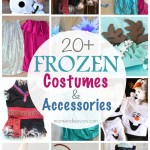 20+ DIY Disney Frozen Costumes & Accessories