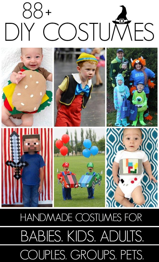 80+ DIY Costumes!!