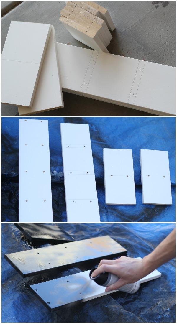 Building DIY Cube Shelves
