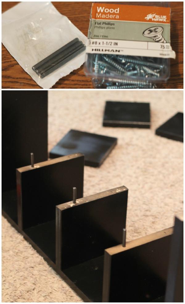 Custom Cube Shelves