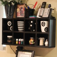 Kitchen Organization – DIY Cube Shelves