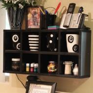 Kitchen Organization – DIY Cube Shelves