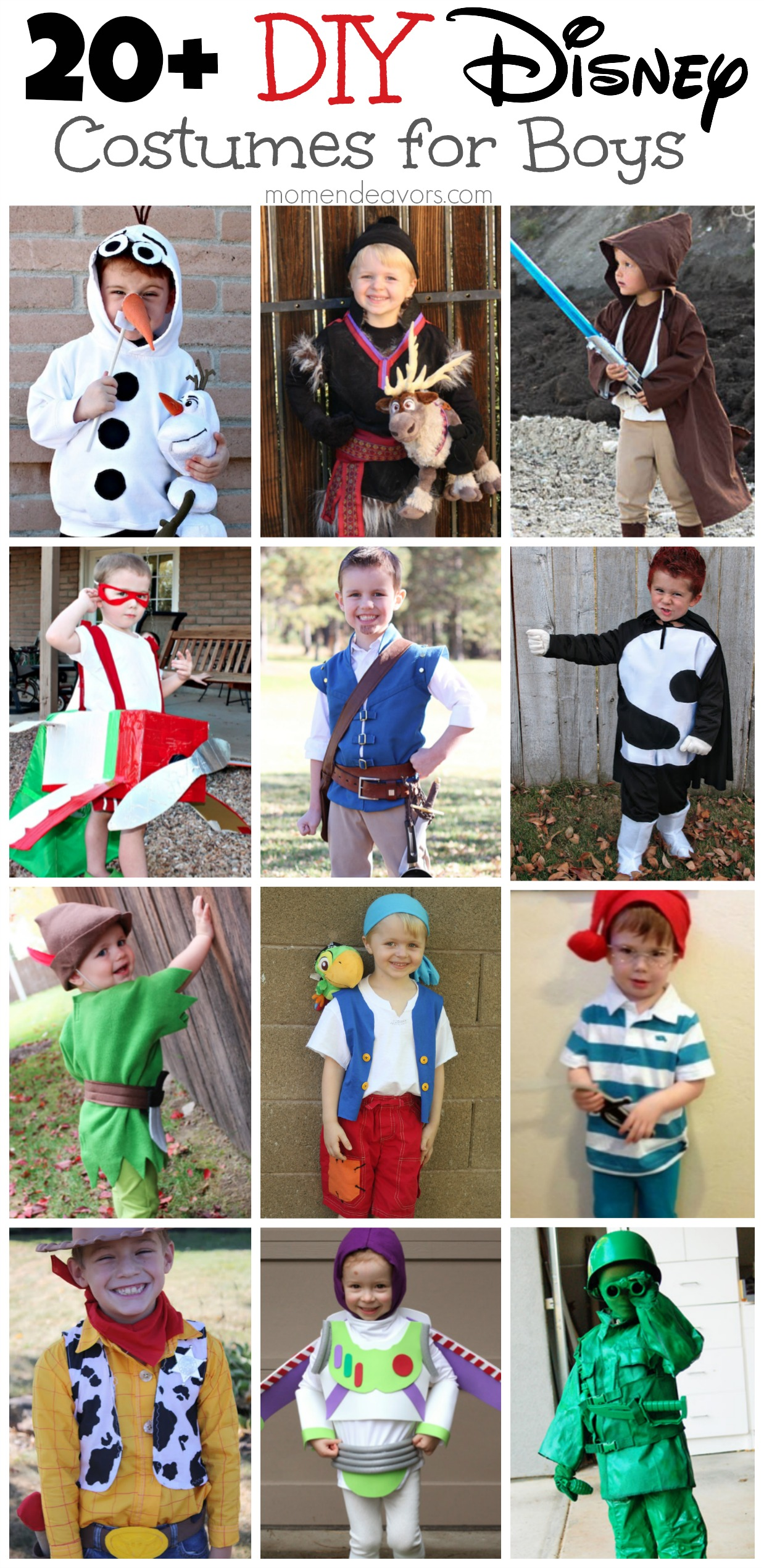 Diy disney costumes for boys diy disney costumes for boys solutioingenieria Image collections