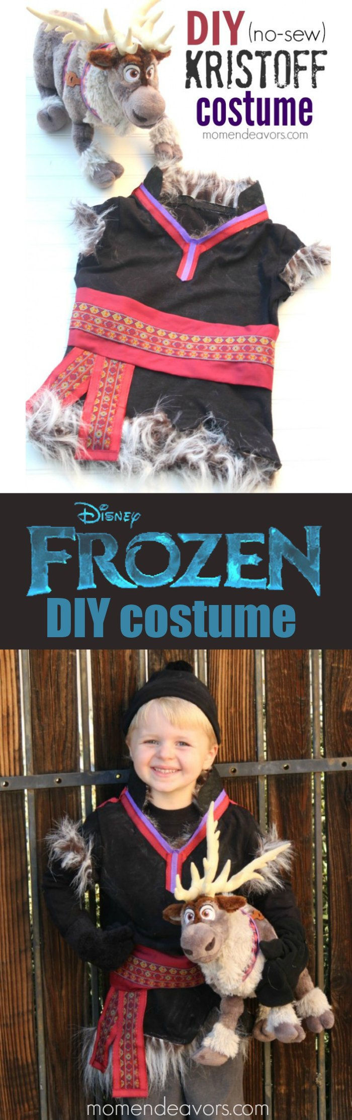 DIY Disney FROZEN Kristoff Costume