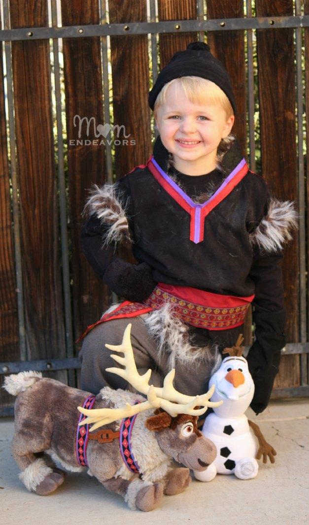 DIY Disney Kristoff Costume