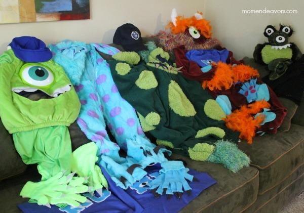 Diy Monsters University Family Costumes Mom Endeavors