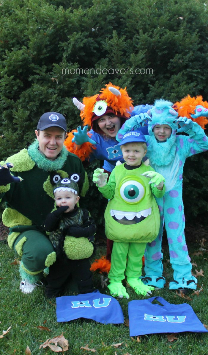 DIY Family Monsters Halloween Costume