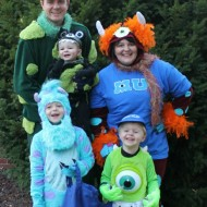 DIY Monsters University Family Costumes